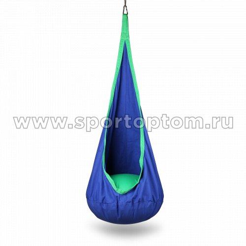 Гамак Кресло-качалка INDIGO IN184 70*150см Сине-зеленый