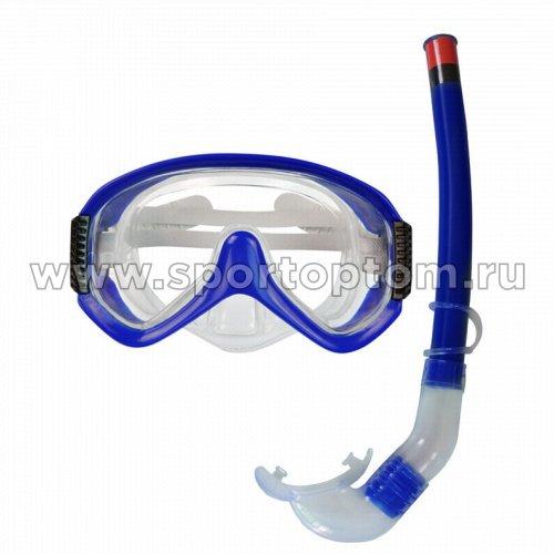 Набор для плавания маска+трубка INDIGO подростковый М38S20