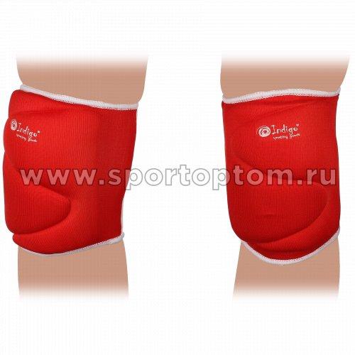 Наколенник волейбольный INDIGO 208-ТSE Красный
