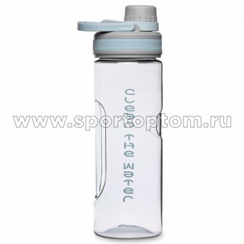 Бутылка для воды   TZ-8905 600 мл Серо-голубой