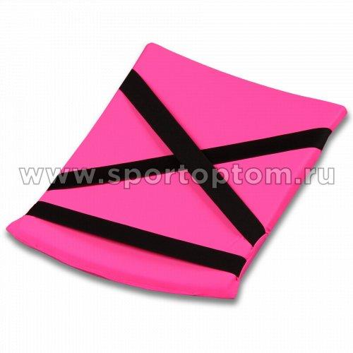 Подушка для кувырков INDIGO SM-265 38х25 см Розовый