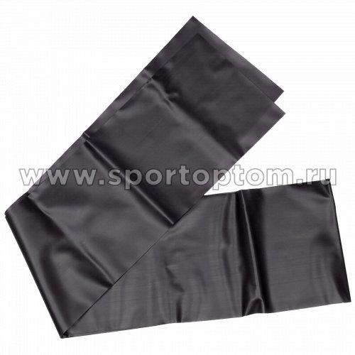 Эспандер ленточный INDIGO  HEAVY (ТПЭ) IN293 1,8м*15см*0,55мм Черный