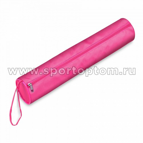 Чехол для булав гимнастических (тубус) INDIGO SM-128 46*8 см Розовый