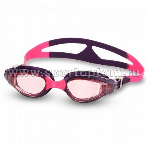 Очки для плавания детские INDIGO NEMO  GS16-4 Фиолетово-розовый