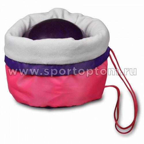 Чехол для мяча гимнастического утепленный INDIGO SM-335 34*24 см Розовый