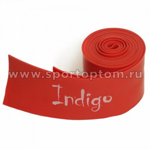 Эспандер Бинт-латекс INDIGO MEDIUM   602-2 HKRB 5*210 см Красный