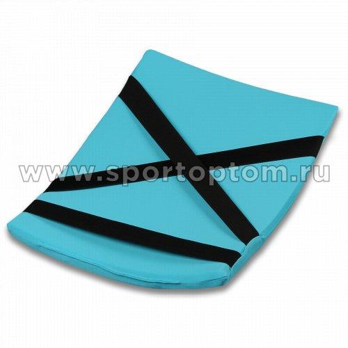 Подушка для кувырков INDIGO SM-265 38х25 см Голубой