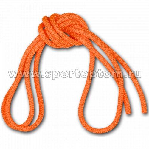 Скакалка для художественной гимнастики Утяжеленная 165 г AMAYA соревновательная 3403000 3 м Флуоресцентный оранжевый