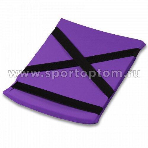 Подушка для кувырков INDIGO SM-265 38х25 см Фиолетовый