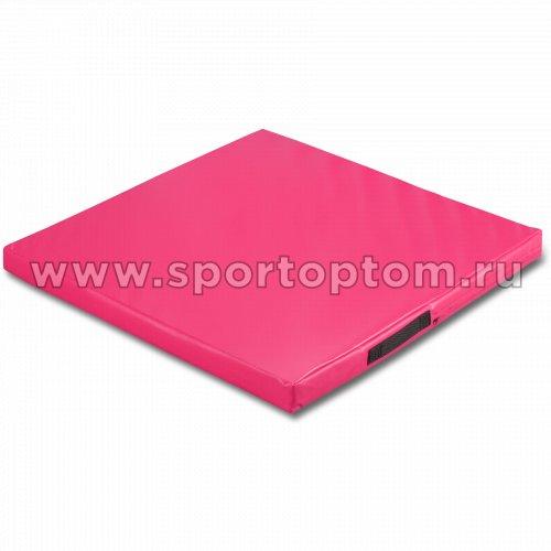 Мат гимнастический SM SM-107 1*1*0.08 м  Розовый