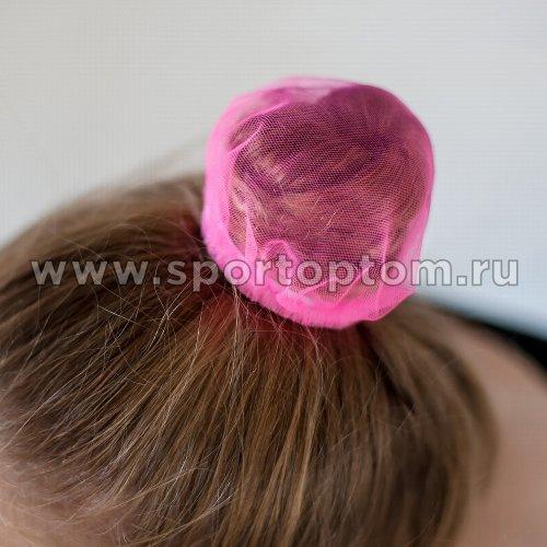 Сеточка для волос INDIGO SM-329             9 см Розовый
