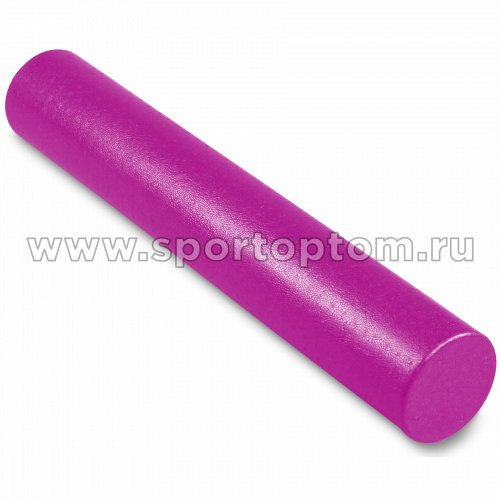 Ролик массажный для йоги INDIGO Foam roll  IN023 15*90 см Цикламеновый