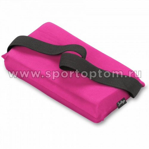 Подушка для растяжки INDIGO  SM-358 24,5*12,5 см Розовый