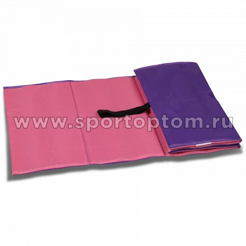 Коврик гимнастический детский INDIGO SM-043 150*50 см Розово-фиолетовый