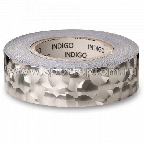 Обмотка для обруча с подкладкой INDIGO 3D BUBBLE IN155 20мм*14м Серебро