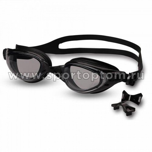 Очки для плавания INDIGO PIKE  GT21-3 Черный