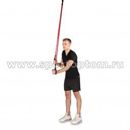 Эспандер Лыжника-Боксёра INDIGO 3 шнура SM-0573 (6)