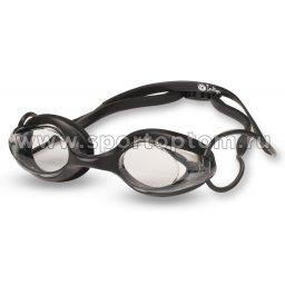 Очки для плавания INDIGO 1801 G Черный