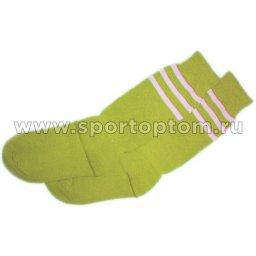 Гетры футбольные Sport с полосками детские CA-015/GG Желтый
