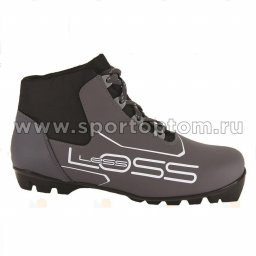 Ботинки лыжные NNN SPINE Loss синтетика м243 Серо-черный