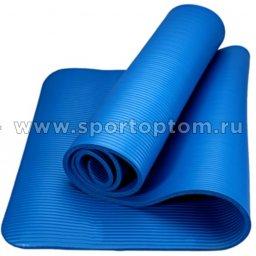 Коврик для йоги и фитнеса INDIGO NBR IN104 173*61*10 мм Синий