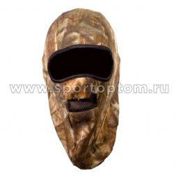 Шапка-маска CAP-MASK-FL-2-KMF флис 2 отв. + сетка КМФ 0916-17 TR L КМФ