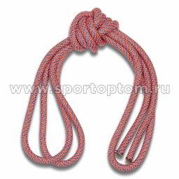 Скакалка гимнастическая (веревочная) Утяжеленная INDIGO ЛЮРЕКС (8)