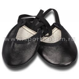 Получешки кожаные GA010 Черный