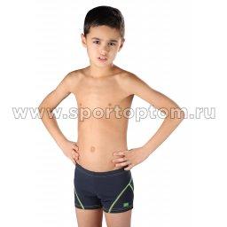Плавки-шорты детские SHEPA 051 152 Серо-оранжевый