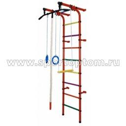 ДСК Непоседа - 1В Плюс пристенный Н1ВП4.15-П  2300*950*525 мм Оранжевый-радуга