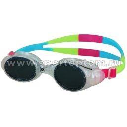 Очки для плавания детские Barracuda UVIOLET  33620      Розово-голубо-зеленый
