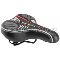 Вело Седло TRIX  AZ-3268 250*185 мм Черно-красный