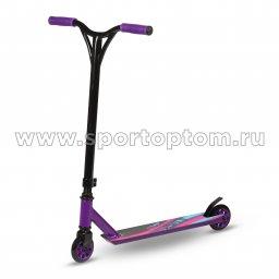Самокат трюковый INDIGO JUMP IN256 Фиолетово-черный