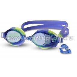 Очки для плавания INDIGO 203 G Желто-Синий