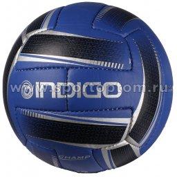 Мяч футбольный №5 INDIGO CHAMP тренировочный (PU 1.1мм) 100042