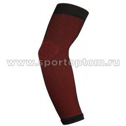 Суппорт локтя эластичный RSC  ЛВ9-02 Черно-красный