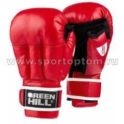 Перчатки для рукопашного боя Green Hill и/к  PG-2047 Красный