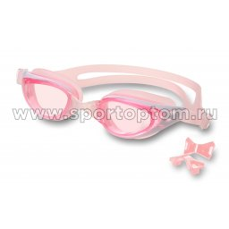 Очки для плавания INDIGO PIKE сменная переносица GT21-1 Розовый