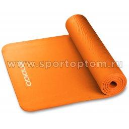 Коврик для йоги и фитнеса INDIGO NBR IN104 173*61*1 см Оранжевый
