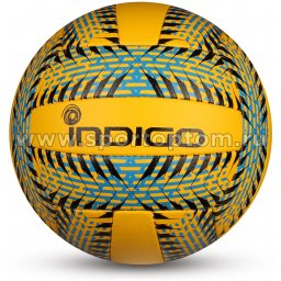 Мяч волейбольный INDIGO RELAX любительский клееный (PU 1,5мм) IN160 Сине-желтый