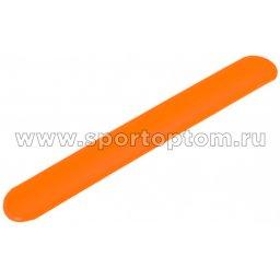 Вело Браслет Светоотражающий  детский   RA 102-2       3*22см Оранжевый