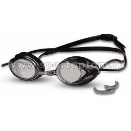 Очки для плавания INDIGO сменная переносица 1001 G Черный