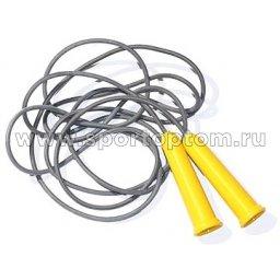 Скакалка резиновый шнур пластиковые ручки (мин.заказ 10 штук)  SM-125 1.8 м