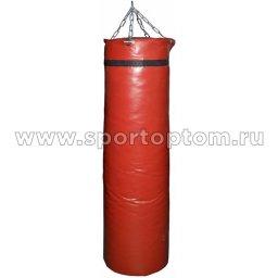 Мешок боксерский SM 90кг ПРОФИ 2-х слойный на цепи ( армированный PVC) SM-241 90 кг Красный