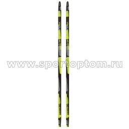 Лыжи полупластиковые INDIGO CLASSIC 180 см Зеленый