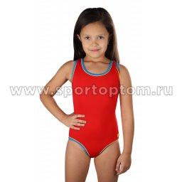 Купальник для плавания  SHEPA слитный детский 001 Красный