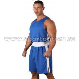 Форма боксёрская RSC со вставками  BF BX 10 44 Синий