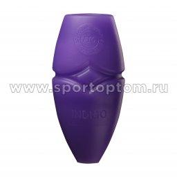 Булавы для художественной гимнастики вставляющиеся INDIGO IN018 41 см Бело-фиолетовый