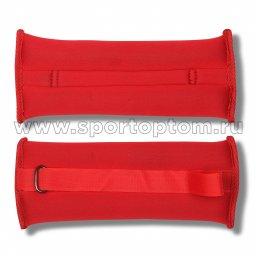 Утяжелители Неопреновые  SM-366 2*0,25 кг Красный