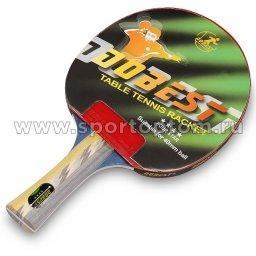 Ракетка для настольного тенниса DOBEST 4 звезды 01 BR